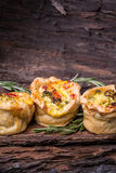 Broccolli tarts Royaltyfri Foto