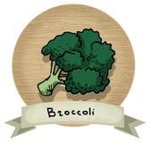 broccolo Illustrazione di Stock