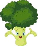 Broccolo che presenta qualcosa Fotografia Stock Libera da Diritti