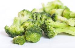 Broccolo congelato Immagini Stock Libere da Diritti