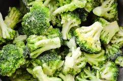 Broccolo congelato Immagine Stock Libera da Diritti