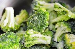 Broccolo congelato Immagini Stock