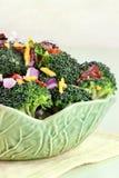 Insalata del broccolo Immagini Stock Libere da Diritti