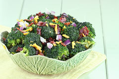 Insalata 2 del broccolo Immagine Stock
