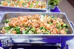 Broccolo fritto Stir Fotografia Stock Libera da Diritti