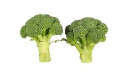 broccolo Broccolo isolato su bianco Immagine Stock Libera da Diritti