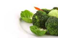 Broccolo leggermente cucinato Immagine Stock Libera da Diritti