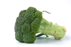 Broccolo sui precedenti bianchi Fotografie Stock Libere da Diritti