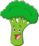 Broccolo sveglio illustrazione vettoriale