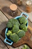 Broccolo verde fresco Immagine Stock Libera da Diritti