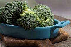 Broccolo verde fresco Fotografia Stock