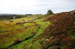 Broch Carloway серовато-коричневого цвета, остров Левиса, Шотландии Стоковое Изображение