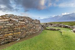 Broch of Gurness, Orkney Stock Image