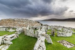 Broch of Gurness, Orkney Royalty Free Stock Image