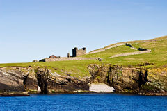 Broch of Mousa Stock Image