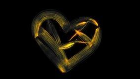 Brocha animada/corazón
