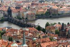 brocharles tjeckisk prague republik Fotografering för Bildbyråer