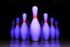 Broche de bowling Images libres de droits