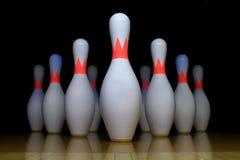 Broche de bowling Photographie stock libre de droits