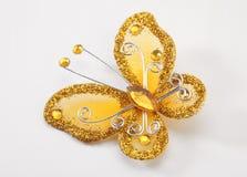 Broche de la mariposa Fotografía de archivo libre de regalías