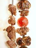 Broche grillée de viande Photographie stock