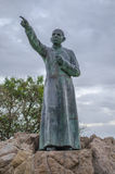 Brochero holy priest statue Royalty Free Stock Image