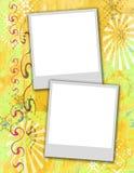 Broches de presión polaroid stock de ilustración