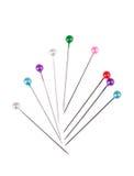 Broches droites colorées Photographie stock libre de droits