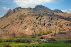 Brochets de Langdale Photos stock