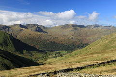 Brochets Nethermost Helvellyn Catstycam de Dollywagon Photos stock