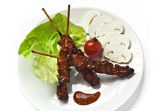 Brochette photographie stock