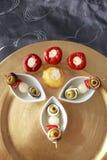 Brochette gastronome Photographie stock libre de droits