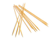 Brochette wooden sticks Stock Photography