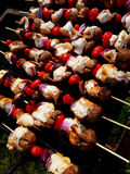 brochettes Photo libre de droits