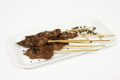 Brochettes Stock Photography