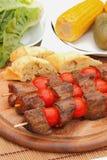 Brochettes de viande Image stock