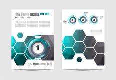 Brochur; templat; opuscolo; aletta di filatoio; modello; progettazione; affare; disposizione; vettore; copertura; fondo; manifest Immagine Stock
