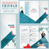 Brochure élégante Photo stock