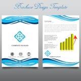 brochure Stock Afbeeldingen