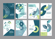 Brochure, annual report, flyer design templates in A4 size Royalty Free Stock Image