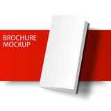 Brochure blank-01 de maquette Photo libre de droits