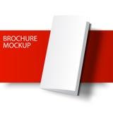 Brochure blank-01 de maquette illustration de vecteur
