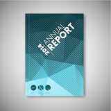 Brochure / book / flyer design template Royalty Free Stock Images