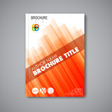 Brochure / book / flyer design template Royalty Free Stock Image