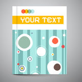 Brochure - Book Vector Template Stock Images