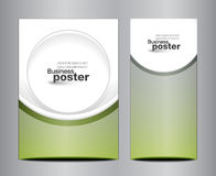 Brochure business design template or banner Stock Photos