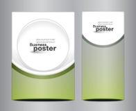 Brochure business design template or banner Stock Photos
