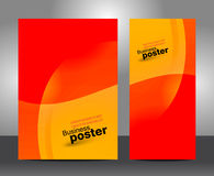 Brochure business design template or banner Stock Photography