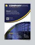 Brochure Business template simple Modern Design and elegant_business brochure template 06 vector illustration