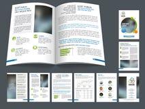 Brochure, calibre ou insecte professionnel d'affaires Photos libres de droits